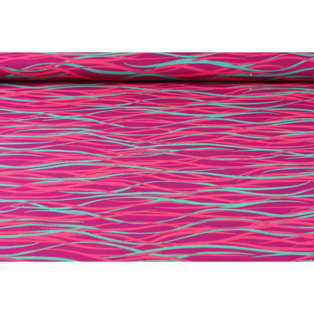 """13,90EUR/m Sweat """"Wire"""" beere von Petra Laitner Bild 1"""