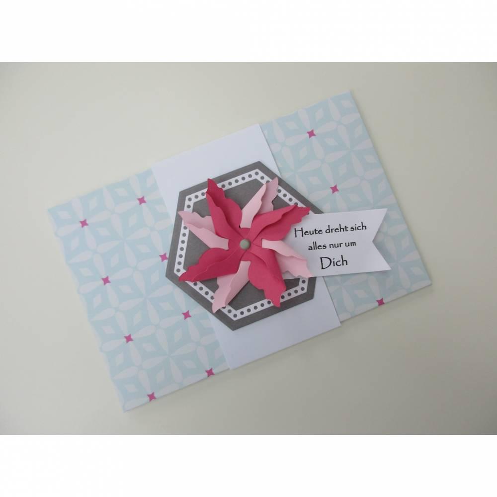 Geschenk-Kuvert für Geldgeschenke oder Gutscheine, zum Geburtstag Bild 1