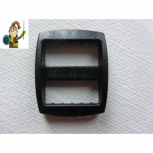 10 x Gurtversteller 15mm Schieber schwarz