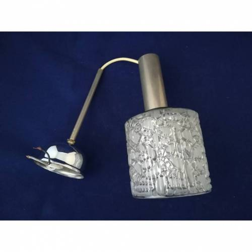 Deckenlampe Bubble-Glas 60er Jahre Retro