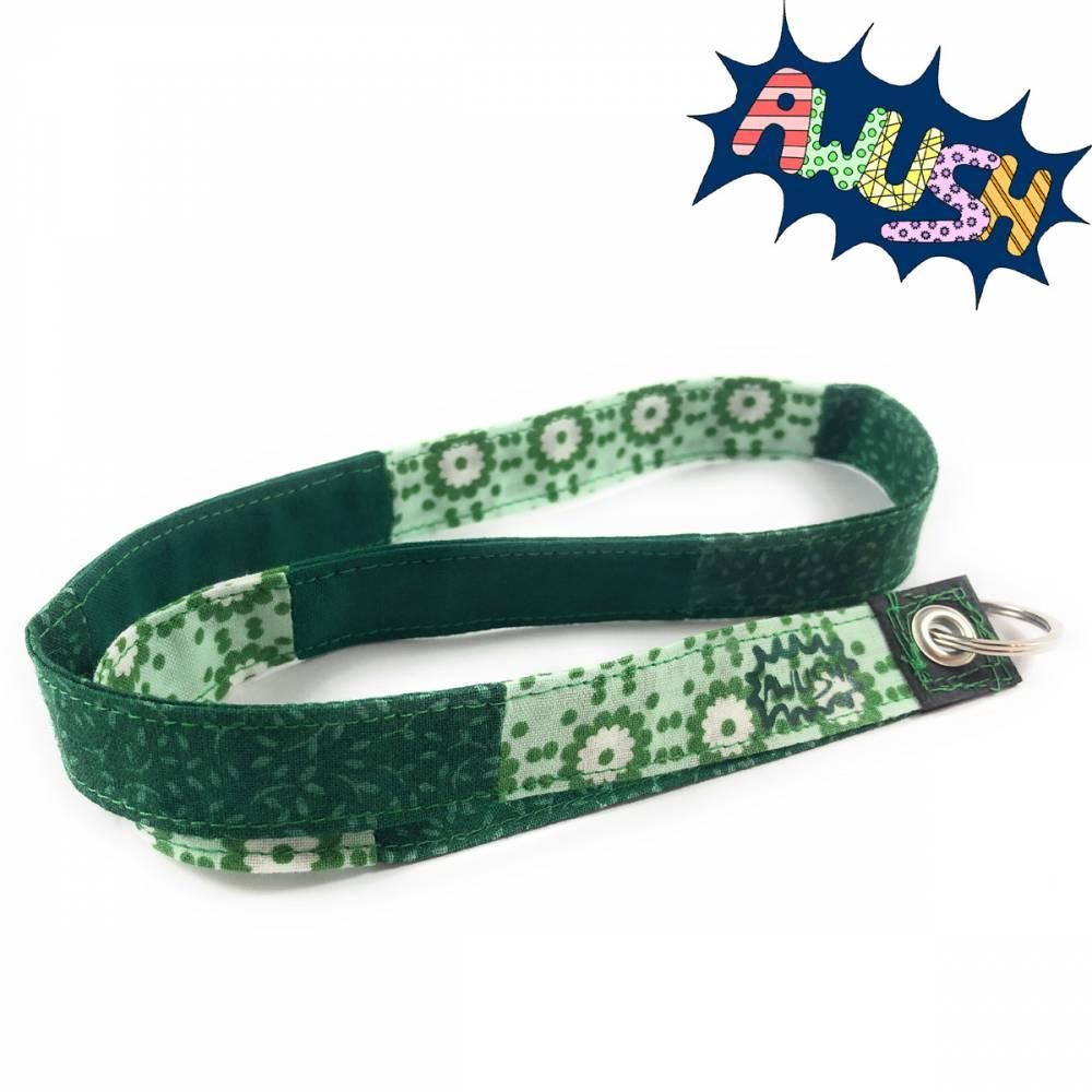 Schlüsselband aus Baumwolle, Grün Bild 1