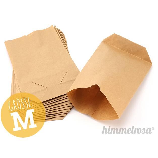 12 Papiertüten braun - M Bild 1