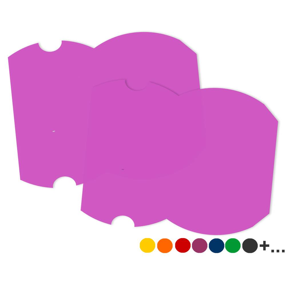 Kissenschachtel Stanzteile, aus stabilem Tonkarton, viele Farben Bild 1