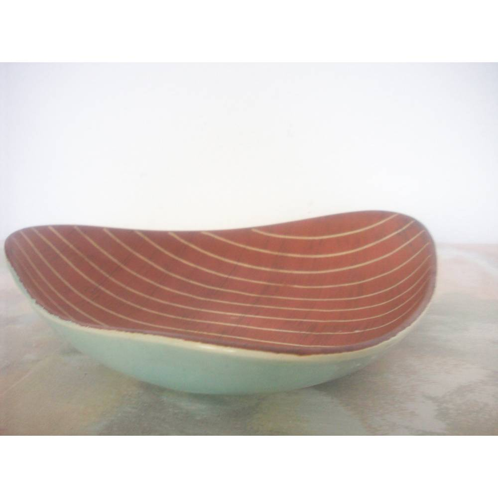 Keramikschale 50er Jahre Retro Mid Century Bild 1