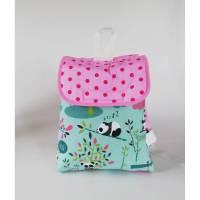 Kleinkinder Rucksack, Kindergarten Tasche Panda mit Namenskette, Handmade Bild 1