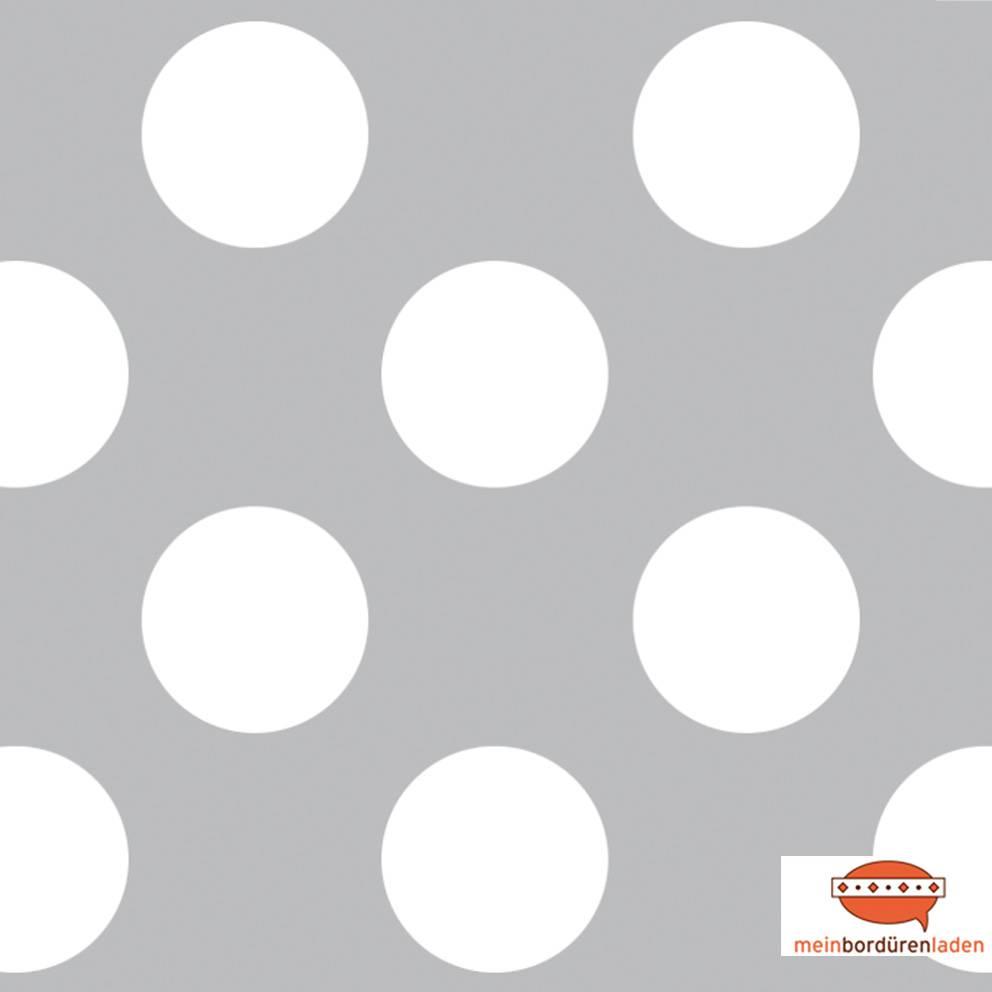 Vlies Bordüre:  Punkte - viele Farbvarianten - optional selbstklebend - 11,5 cm Höhe Bild 1