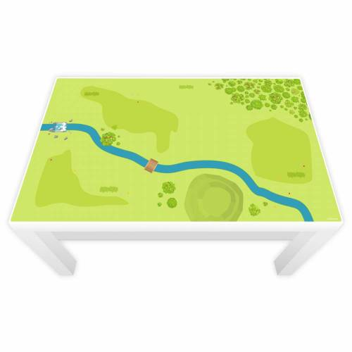 Spielfolie für LACK Tisch Wald & Wiese