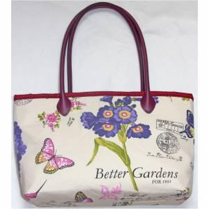 Tasche Vögel mit Schmetterlingen