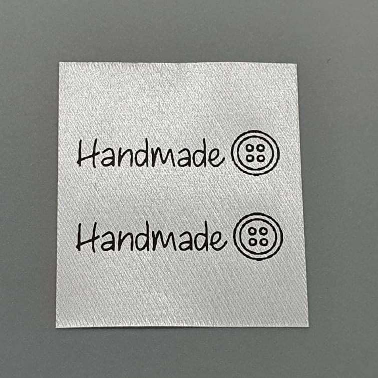 """Handmade Seitenlabel """"Knopf"""" Bild 1"""