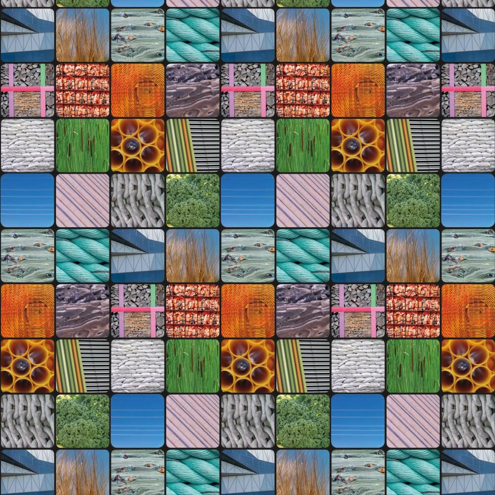 """Geschenkpapier """"Strukturen Nr1""""  Bild 1"""