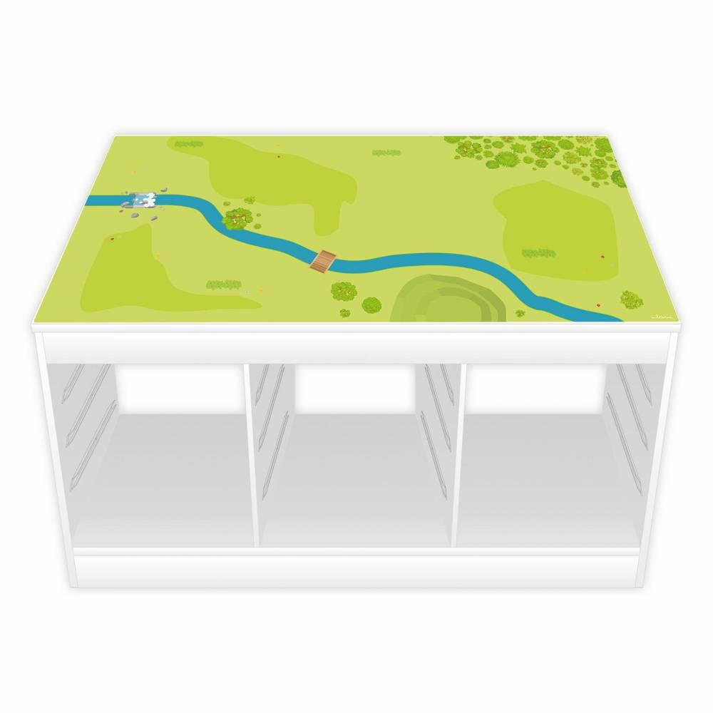 Spielfolie für TROFAST Regal Wald & Wiese (Möbel NICHT INKLUSIVE) Bild 1