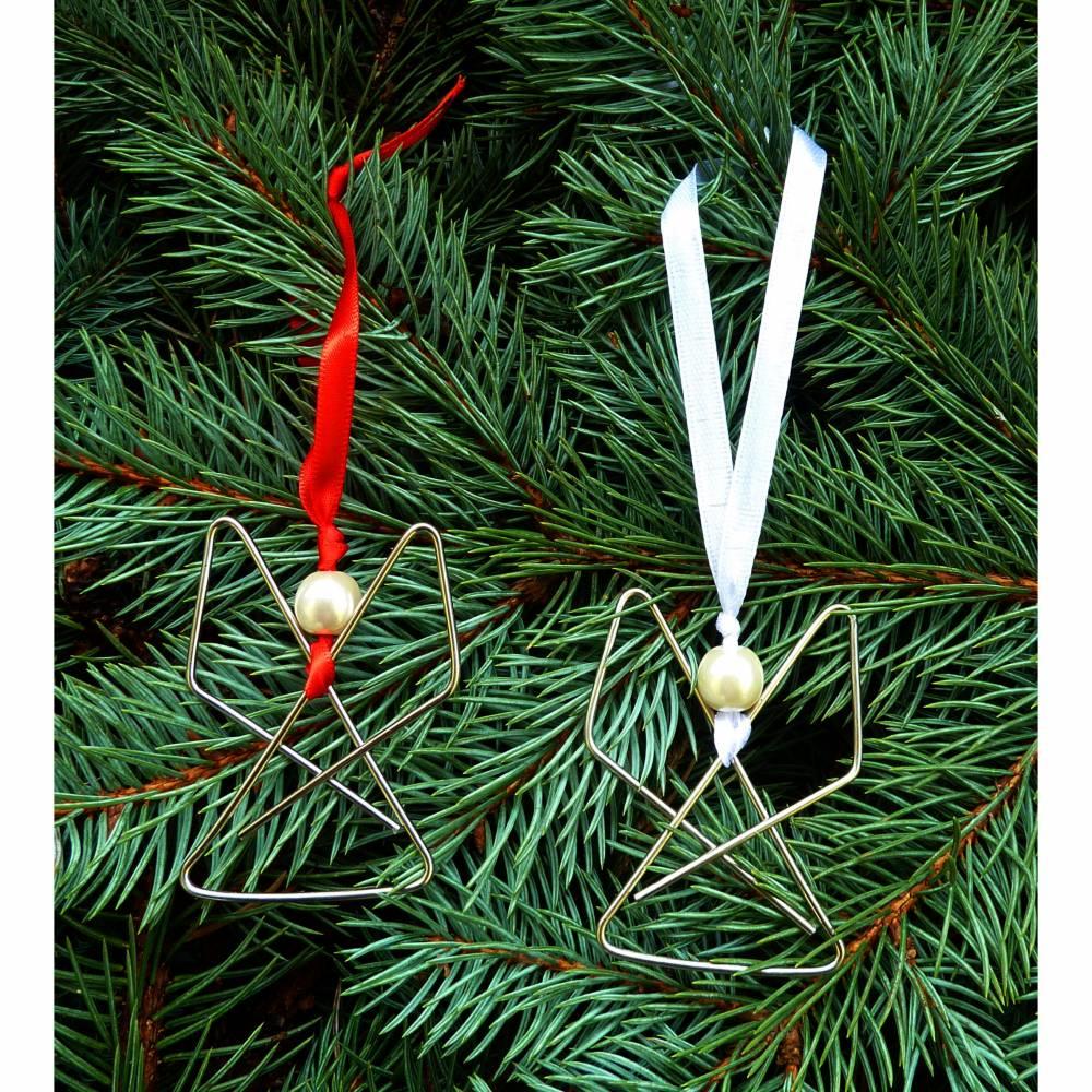 2 Weihnachtsengel Fenster- oder Christbaumschmuck Bild 1