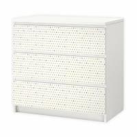 003 Möbelfolie für IKEA MALM - Anker - 3 Schubladen Aufkleber Sticker Klebefolie (Möbel nicht inklusive) Bild 1