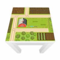 Spielfolie für LACK Tisc Bauernhof 55x55cm Bild 1
