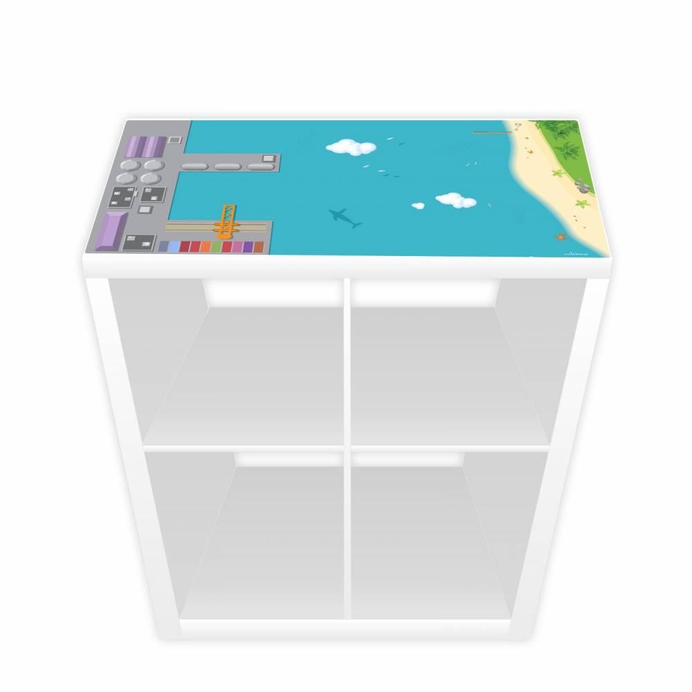 Spielfolie für KALLAX/ EXPEDIT Regal Hafen & Insel Bild 1