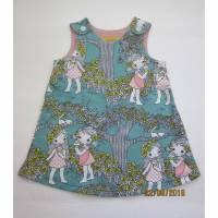 Mädchen mit Eis Baby und Kleinkind Bio Jersey Kleid Bestellen Tunica In Größen 3-24 mo Zu bestellen Bild 1