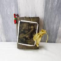 Junk Journal, Weihnachten, Treasure Book, Bullet Journal, Tagebuch, Diary, Handmade Book, Handmade Journal, Handmade Diary, Journal, Album, 3 Bild 1