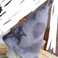 Saunahut aus 100% Wolle grau Bild 3