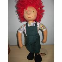 Alan der Gärtner  Original, 44cm Waldorf stil, Gärtner Puppe, Gärtner, rot Haarige Puppe, Künstlerpuppe, Sammlerpuppe Bild 1