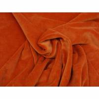 Stoff Nicky Nicki uni orange Bild 1