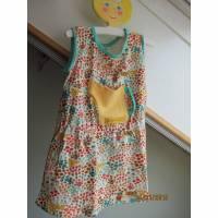 Hidden Garden Kleid Größe 98, Tunica, Öko Kleid mit  Gießkanne Tasche Bild 1