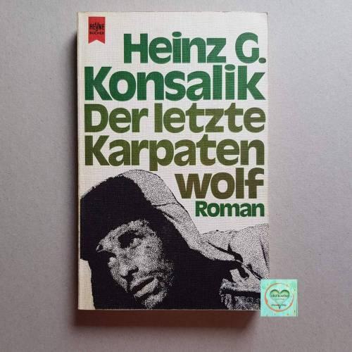 Taschenbuch H.G.Konsalik, der letzte Karpatenwolf, Roman, Erscheinungsjahr 1961