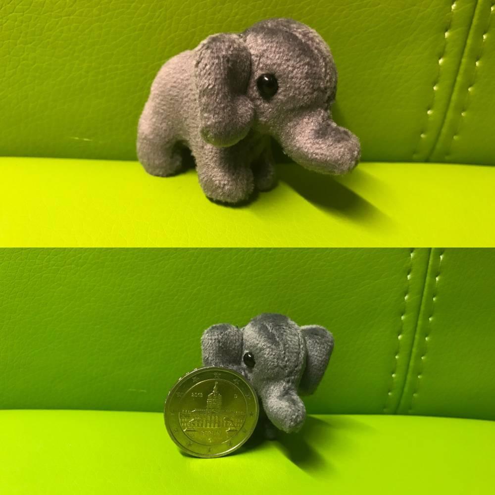 Bärino Elefant 4 cm  Bild 1