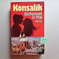Taschenbuch H.G.Konsalik, Bluthochzeit in Prag, Roman, Erscheinungsjahr 1969,  Bild 1