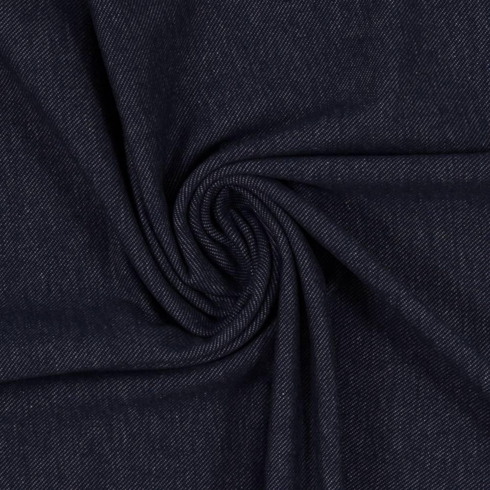"13,50EUR/m Jeans-Jersey ""Austin"" in dunkelblau Bild 1"