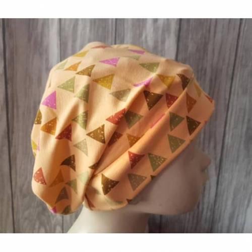 Chemo - Mütze - Beanie Einheitsgröße / Erwachsene Dreiecke