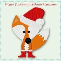 1 x Stickdatei / Vollstick *Mister Fuchs feiert Weihnachten* by Cherry Picking Bild 1