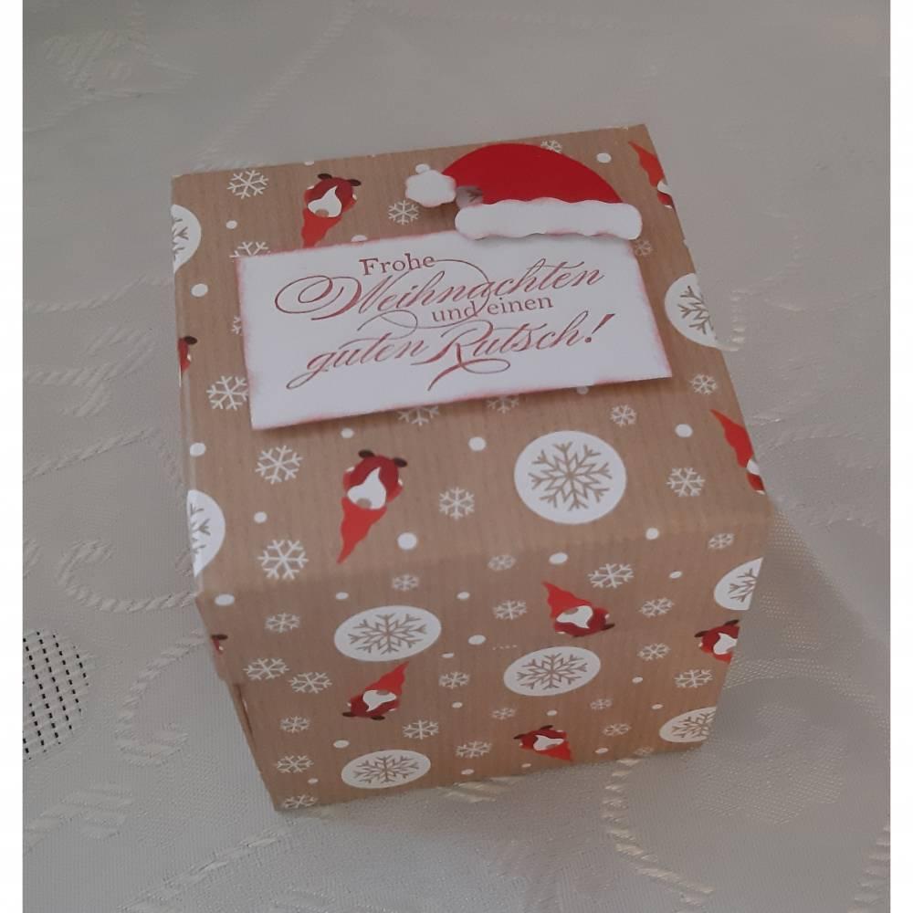 Explosionsbox als Geldgeschenk zu Weihnachten Bild 1