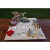 Geldgeschenk, Geldverpackung, ein Schutzengel zu Weihnachten Bild 1