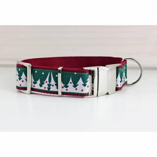 Hundehalsband mit Tannenbaum, Weihnachten für euren Hund