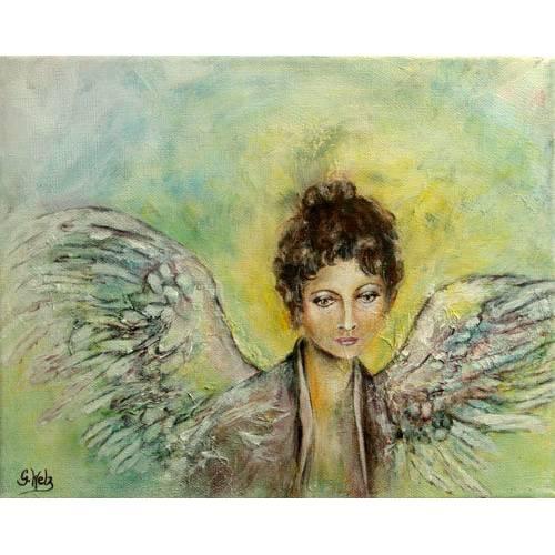 "Original Acrylbild ""Engel der Annahme"" Bild 1"