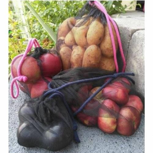 Freebook wiederverwendbare Obst- und Gemüsebeutel, zero waste, Schnittmuster und Anleitung