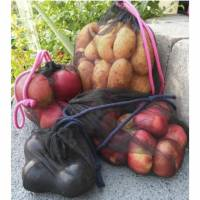 Freebook wiederverwendbare Obst- und Gemüsebeutel, zero waste, Schnittmuster und Anleitung Bild 1