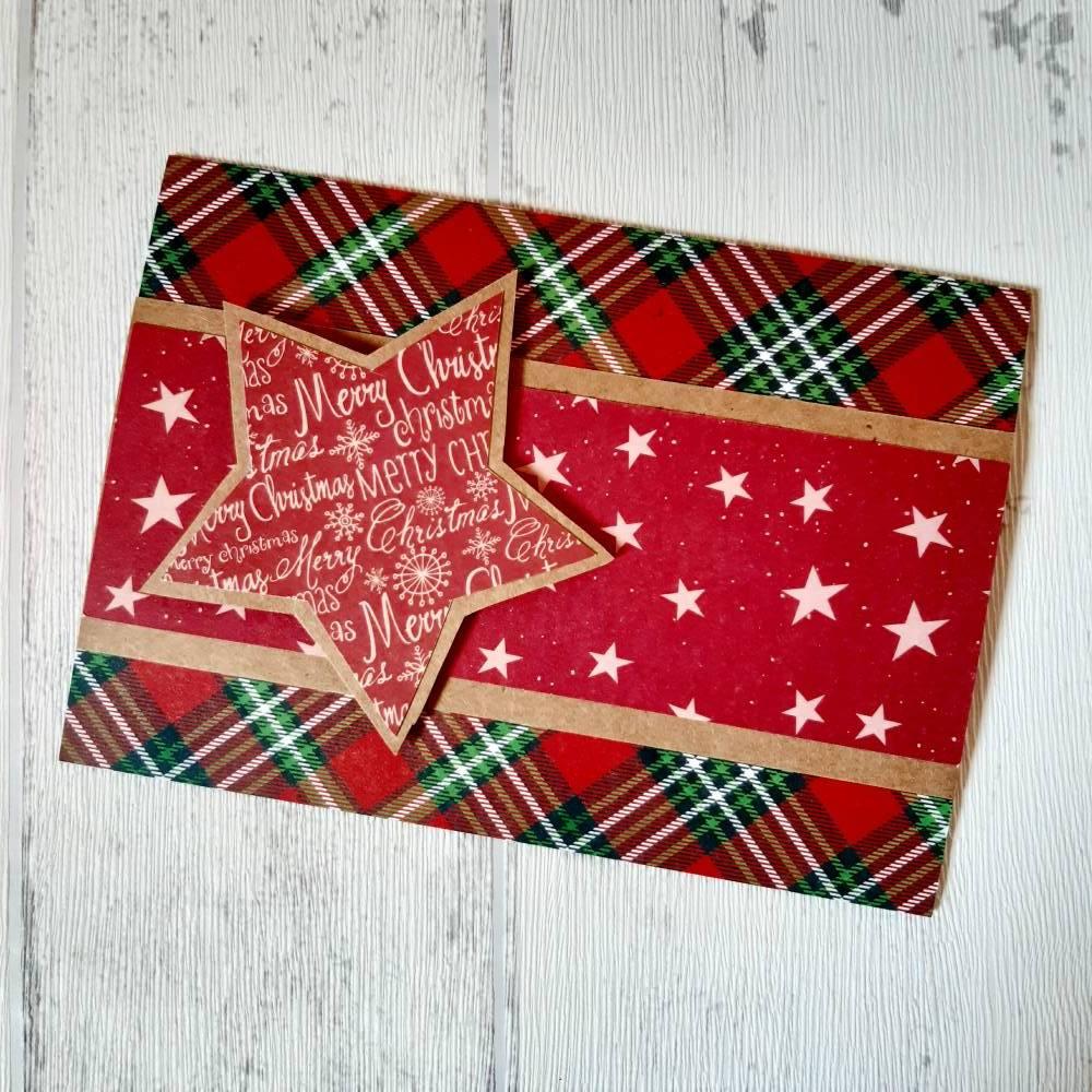 schlichte Weihnachtskarte Bild 1