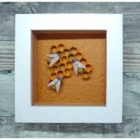 Rettet die Bienen // Minibild 10 x 10 cm zum Aufstellen oder Hängen  Bild 1