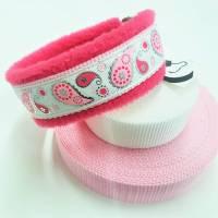 """Hundehalsband """"Paisley"""" ~ Größe 35 cm mit Zugstopp * verstellbar. Halsbandmanufaktur Cavalletti-4Dogs Bild 1"""