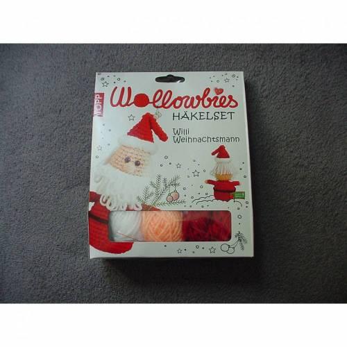 Wollowbies Häkelset Willi Weihnachtsmann - von Topp