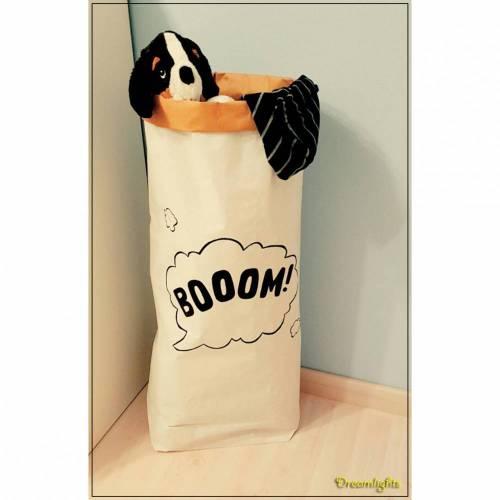 """Paperbag """"Whale Pauly"""" Aufbewahrungstüte Papiertüte Kinderzimmer"""