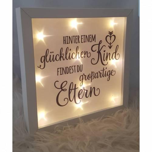 """Leuchtrahmen """"Eltern"""""""
