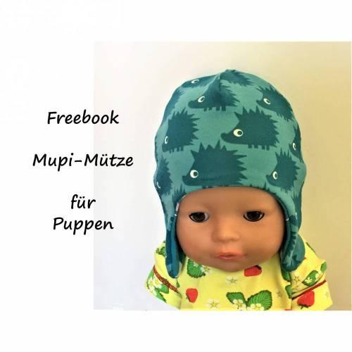 Freebook Mupi-Mütze Puppen