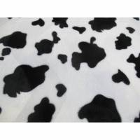 Fellimitat Kuhfellimitat weiß - schwarz (1m/8,-€) Bild 1
