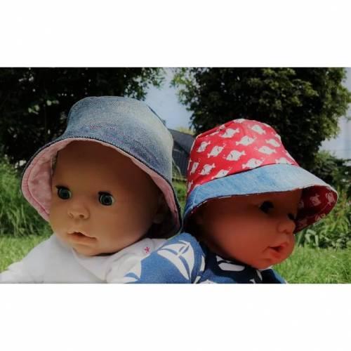 Freebook Sonnenhut Egon der Anglerhut Puppen