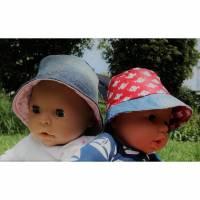 Freebook Sonnenhut Egon der Anglerhut Puppen Bild 1