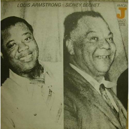 Louis Armstron-Sidney Bechet,Amiga LP,Jazz,1977
