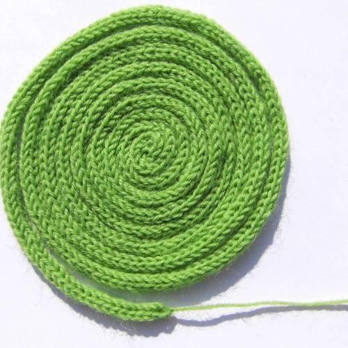 Schnur Geschenkband grün
