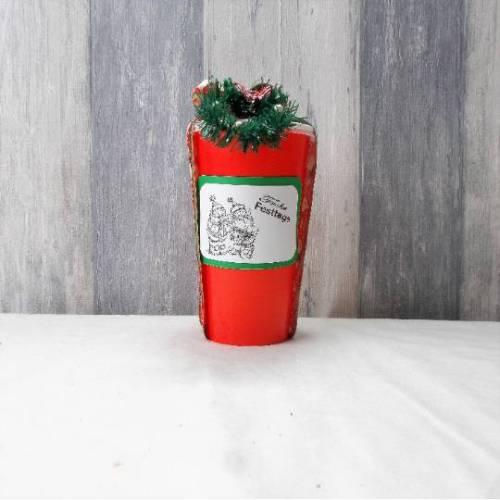 Kleines Wellness Set im Becher, Wichtelgeschenk, Kleines Weihnachtsgeschenk 4